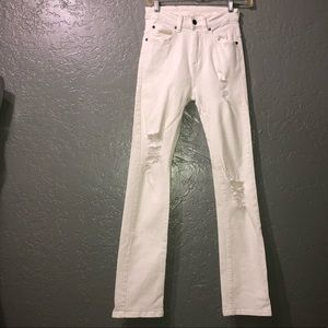 Dr Denim Jean Makers Florence white